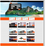 TravelBuzzes frontpage with best offers for packages, tours and events
